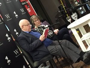 Gogglebox stars and Liverpool lovebirds Leon and June read at our A Little, Aloud with Love launch in Waterstones Liverpool ONE
